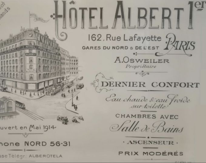 Hotel Albert 1er Paris